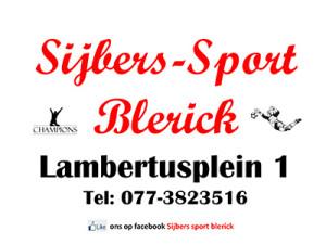 Sijbers-Sport Blerick Lambertusplein 1
